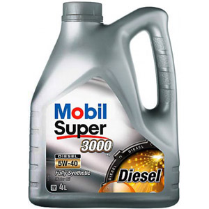 Mobil Super 3000 X1 SAE 5W-40  DIESEL 4л  (Fully synthetic)