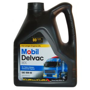 Mobil Delvac MX 15w40  4л  масло моторное