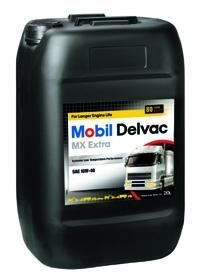 Mobil Delvac MX Extra 10w40 20л  масло моторное