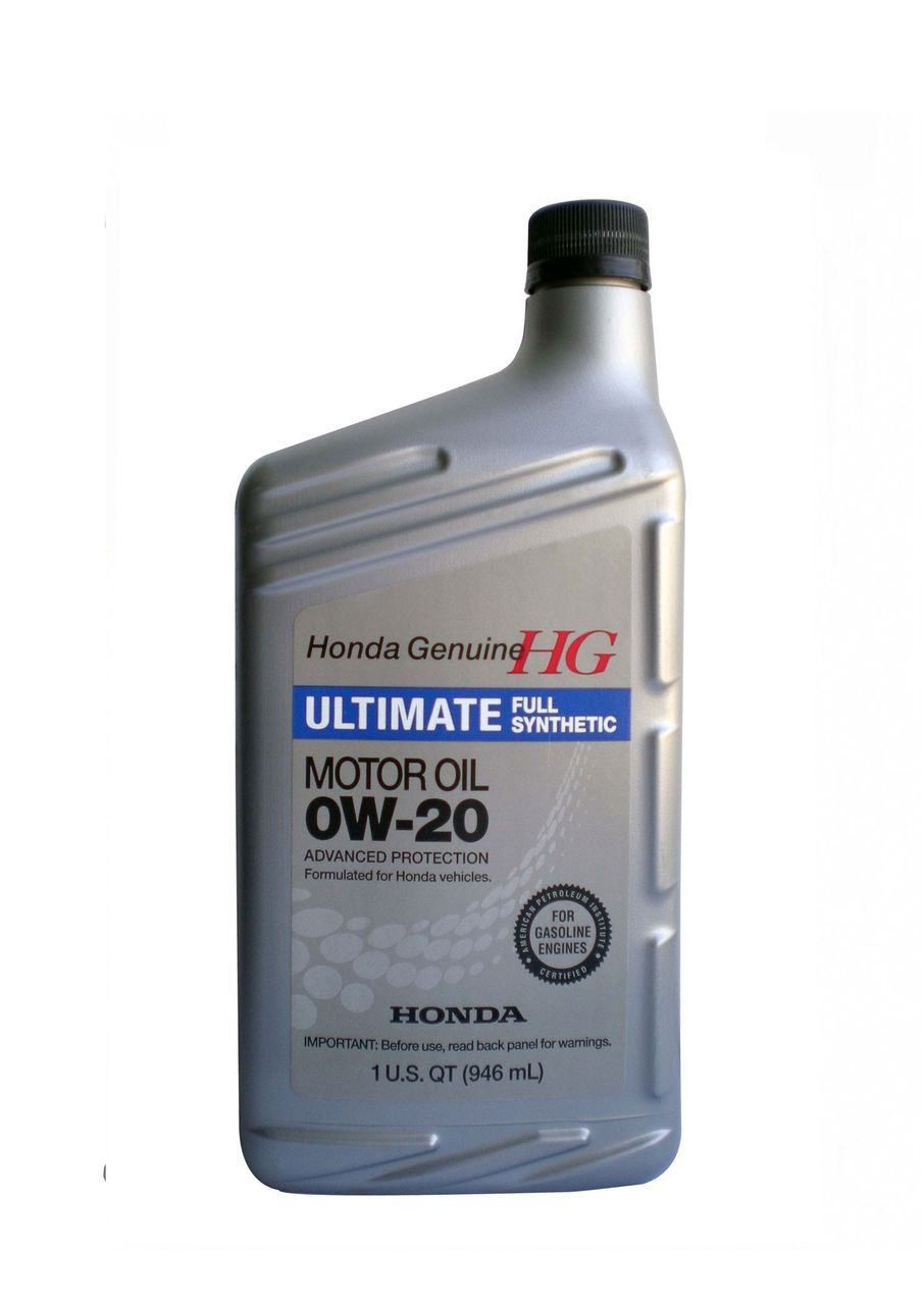 Моторное масло HONDA Ultimate Full Synthetic SAE 0W-20  0,946л (США)
