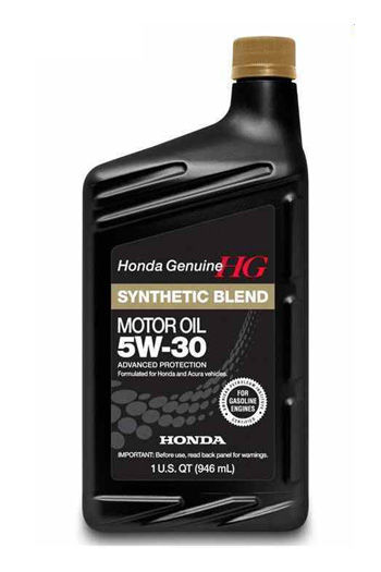 Моторное масло HONDA Synthetic Blend SAE 5W-30 0,946л (США)